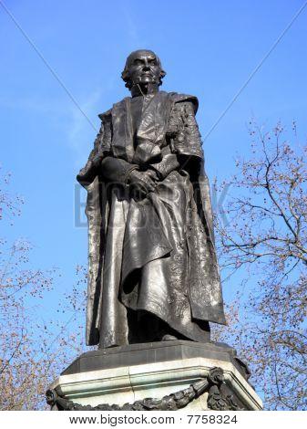 Gladstone Memorial London's Fleet Street