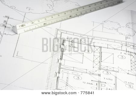 blueprint of a building 04