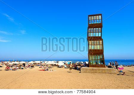 Barceloneta Beach - Barcelona Spain