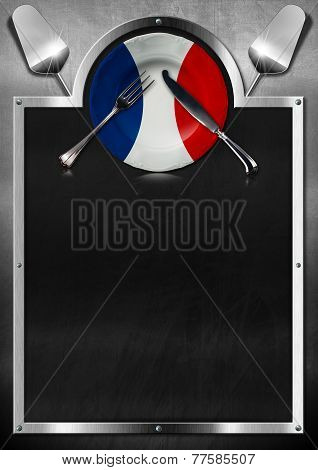 French Restaurant Menu Design