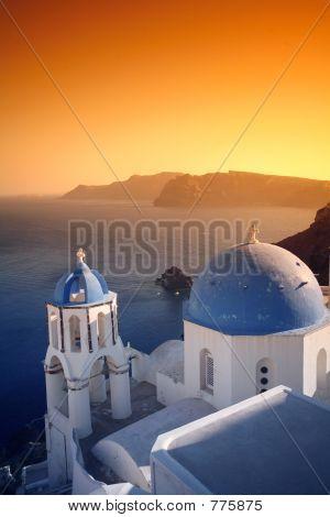 Church Sunset Vertical