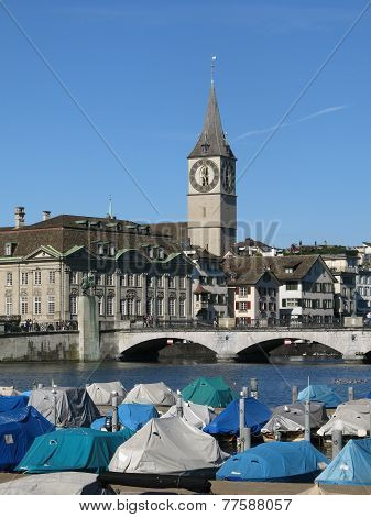 Scenery In Zurich