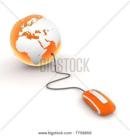 Surf The World - Orange Translucent