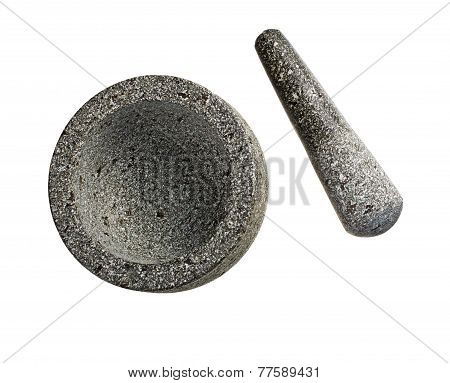 Pounder Isolated On White Background