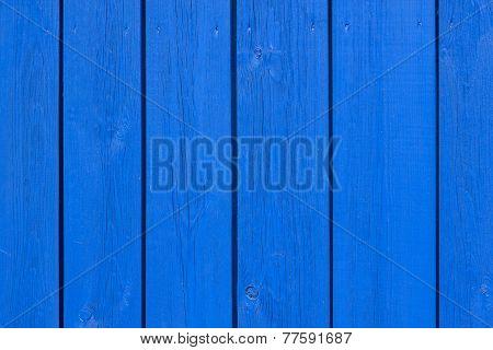 Blue Wooden Boards