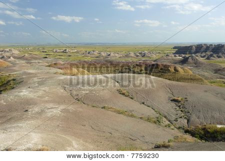 Prairie And Badlands