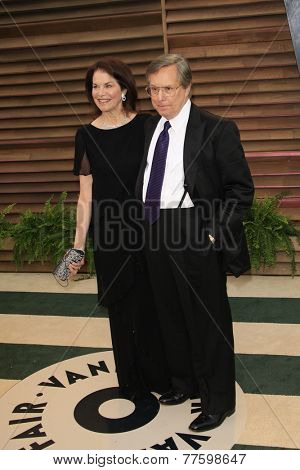 LOS ANGELES - MAR 2:  Sherry Lansing, William Friedkin at the 2014 Vanity Fair Oscar Party at the Sunset Boulevard on March 2, 2014 in West Hollywood, CA