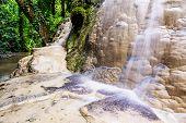 picture of tong  - Amazing Of Bua Tong Waterfall In Chiang Mai - JPG