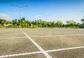 foto of parking lot  - Vacant Parking Lot  - JPG