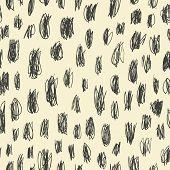 stock photo of scrabble  - Doodles scrabble seamless pattern - JPG