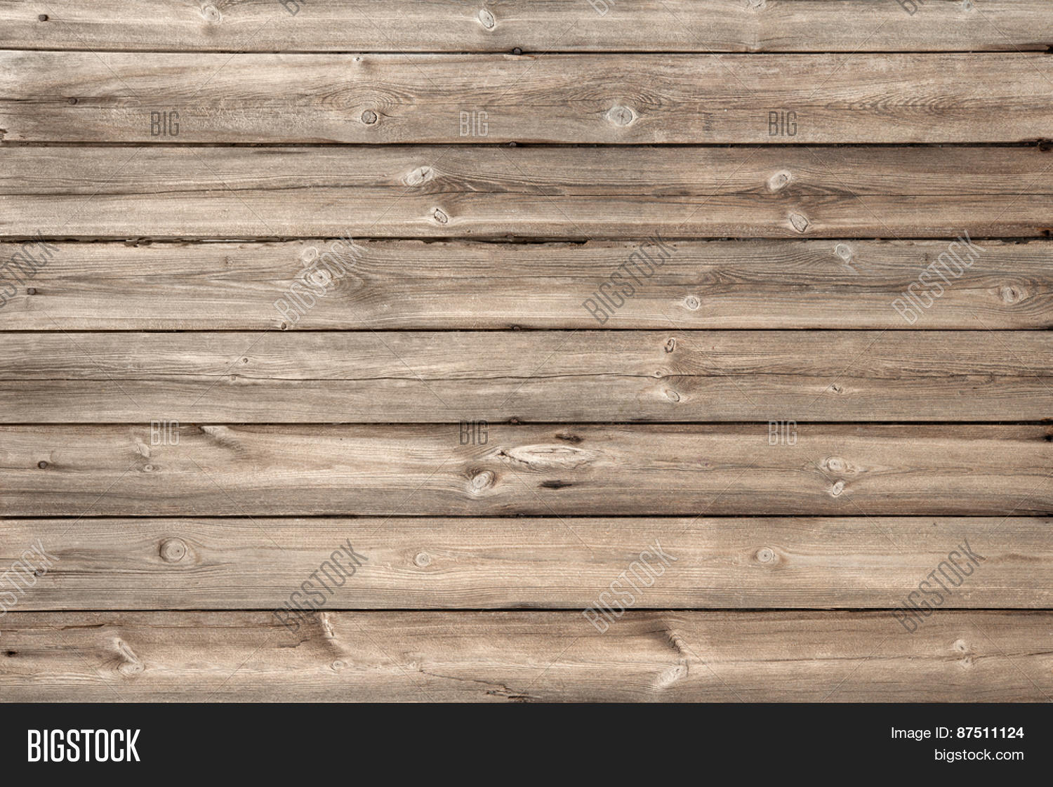 Wood Plank Background ~ Wood background texture of wooden planks stock