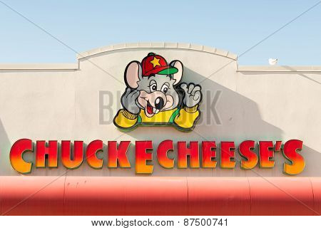Chuck E. Cheese Logo Or Sign