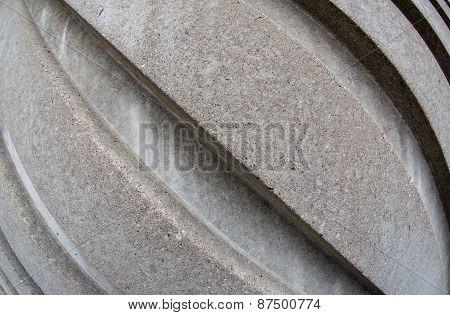 Diagonal Concrete Lines