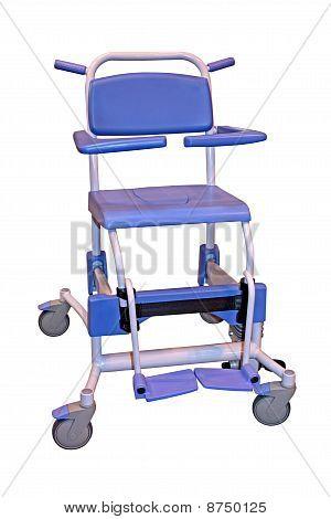Commode Wheelchair.