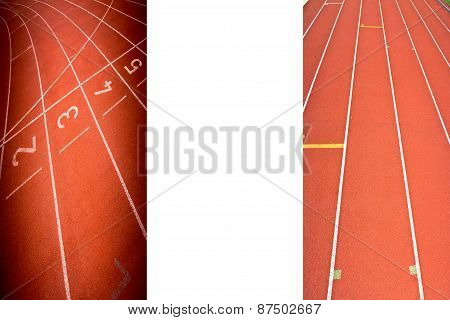 Abstract  Running Track Rubber