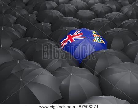 Umbrella With Flag Of Cayman Islands