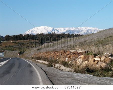 Snow On Sierra Nieves