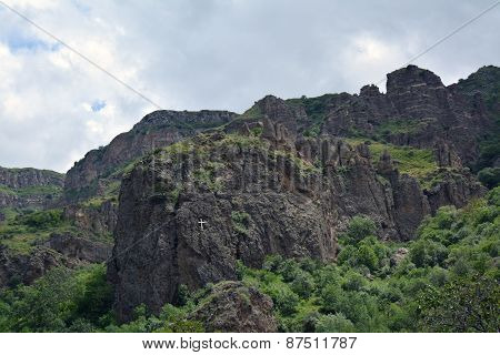 Mountains In Armenia, Surrounding Geghard Monastery