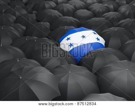 Umbrella With Flag Of Honduras