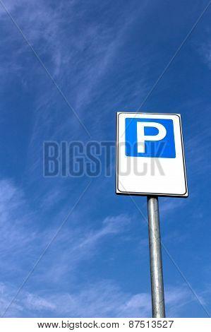 Vertical Parking Signal