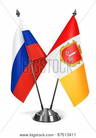 Russia and ONR - Miniature Flags.