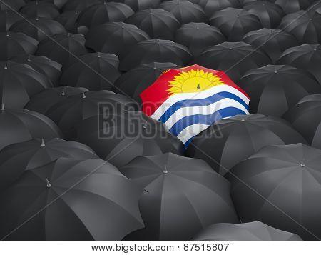 Umbrella With Flag Of Kiribati