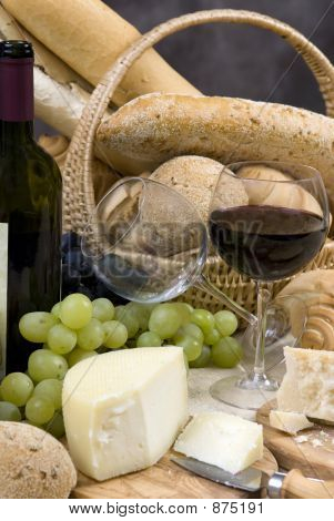 Bread Cheese And Wine 6