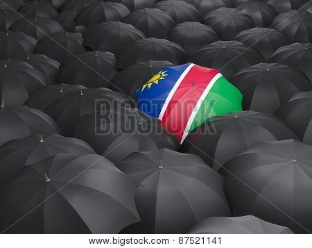 Umbrella With Flag Of Namibia