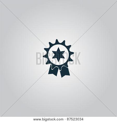 Award Icon Isolated on Background