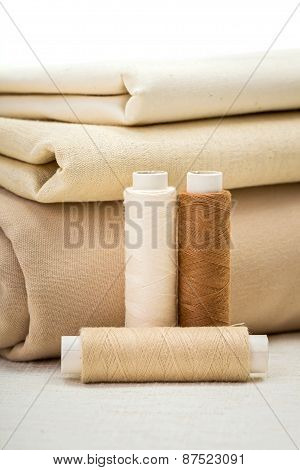 Brown Sewing Accessories