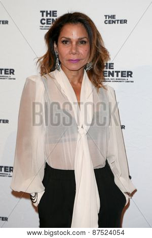 NEW YORK-APR 2: Actress Daphne Rubin-Vega attends the 2015 Center Dinner at Cipriani Wall Street on April 2, 2015 in New York City.