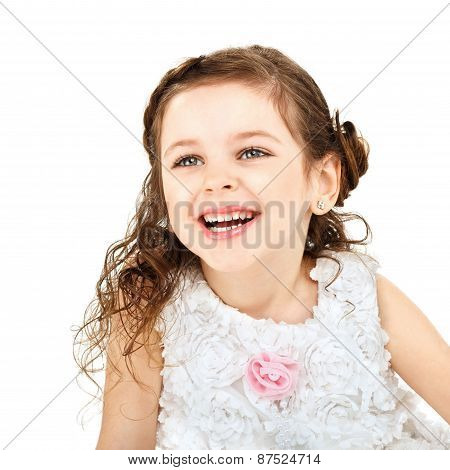 Little Girl Laughs Merrily