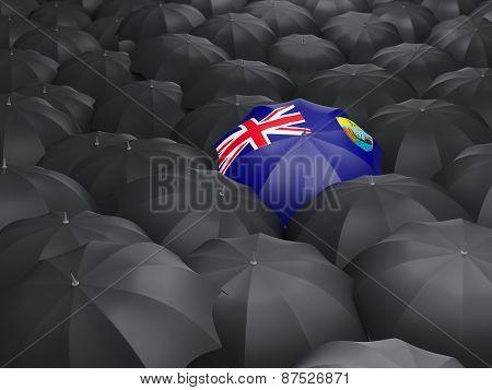 Umbrella With Flag Of Saint Helena