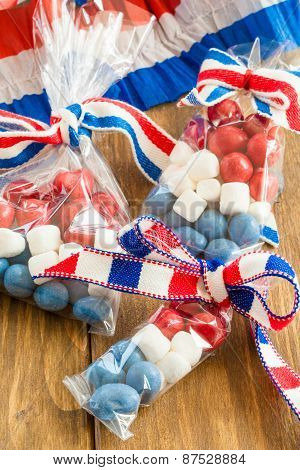 Colorful Treats For The 4Th Of July