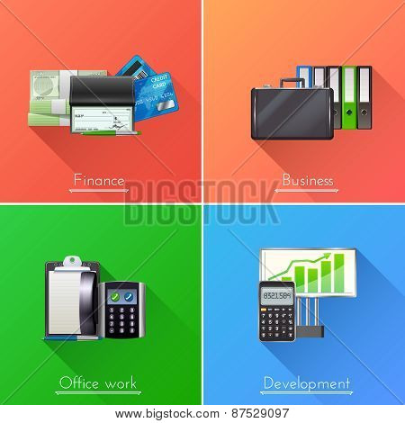Business Design Concept Set