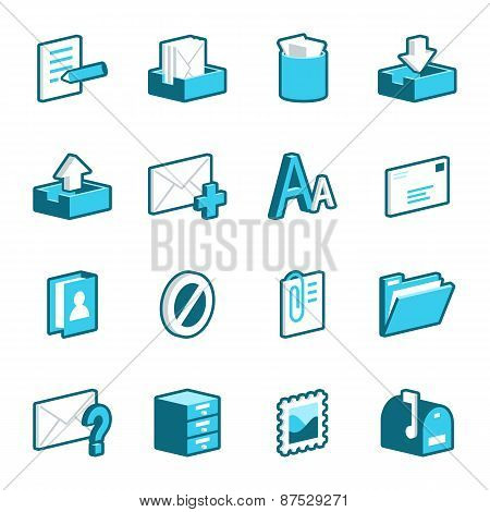 Message And Mail Icons