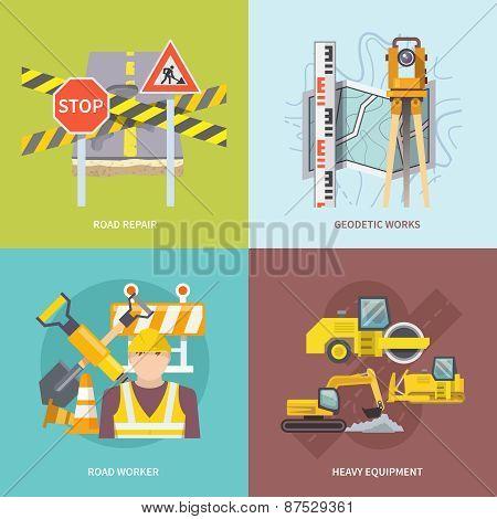 Road Worker Flat