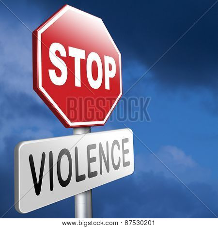 No Violence Or Aggression