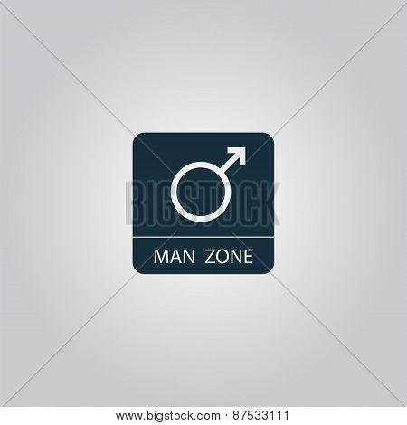 Male symbol, man