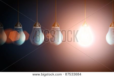 Colorful Lightbulb