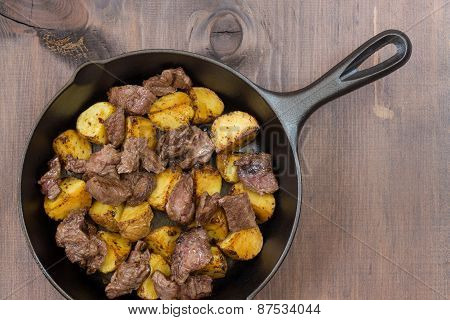 Roast Meat With Potato