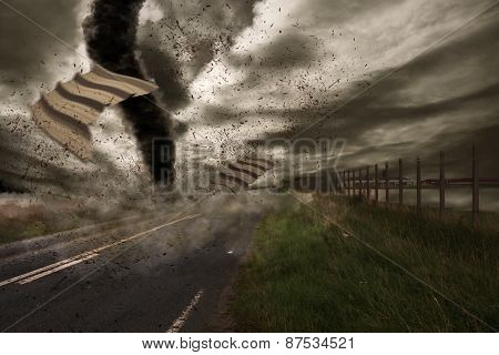 Large Tornado Disaster