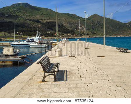 Favignana Harbor In The Early Spring, Sicily