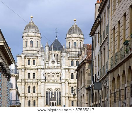 St. Michael's Church, church of style Renaissance, Dijon (Burgundy France)