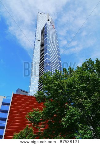 The tallest tower of Melbourne