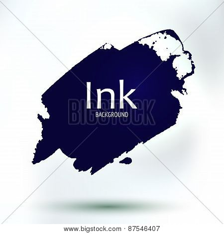 Ink Blob, Hand Drawing Art Place For Your Text