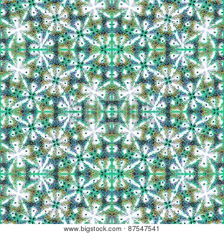 Colorful Decorative Ornament Pattern