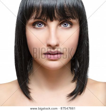 Portrait of a beautiful sexy young woman.