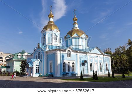 Russia. Tambov. Church Of Our Lady Of Joy Of All Who Sorrow In Ascension Monastery