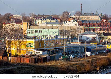Cityscape Kineshma, Russia